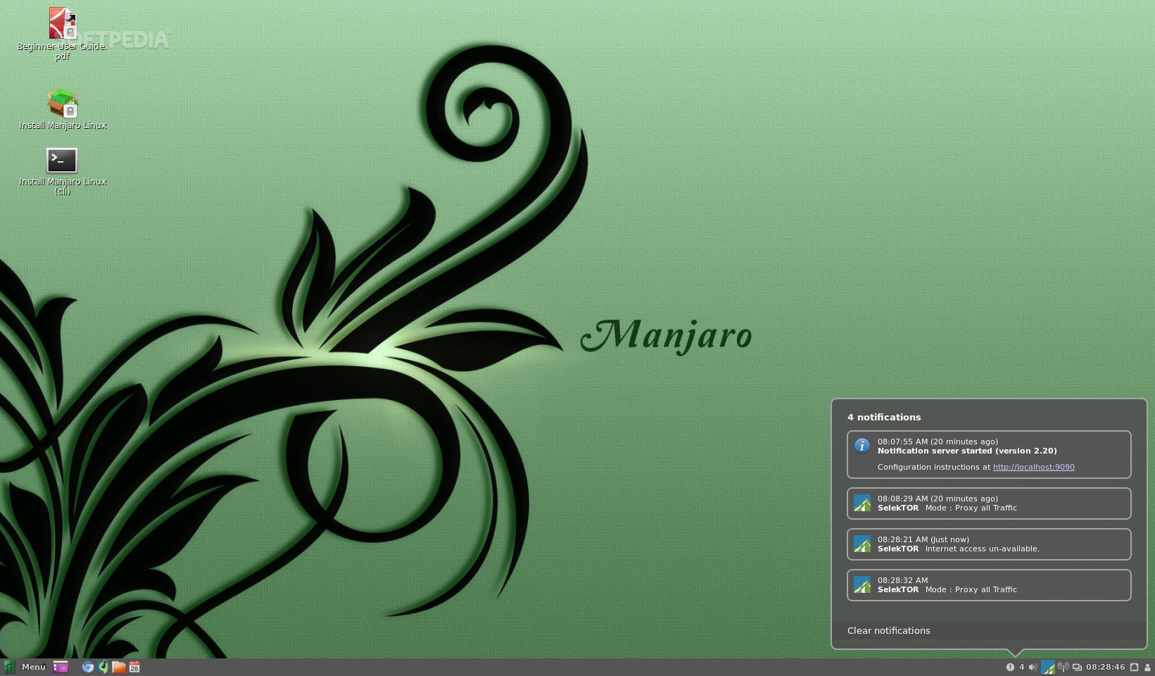 Manjaro Linux Cinnamon 0 8 12 Is Now Available for Download