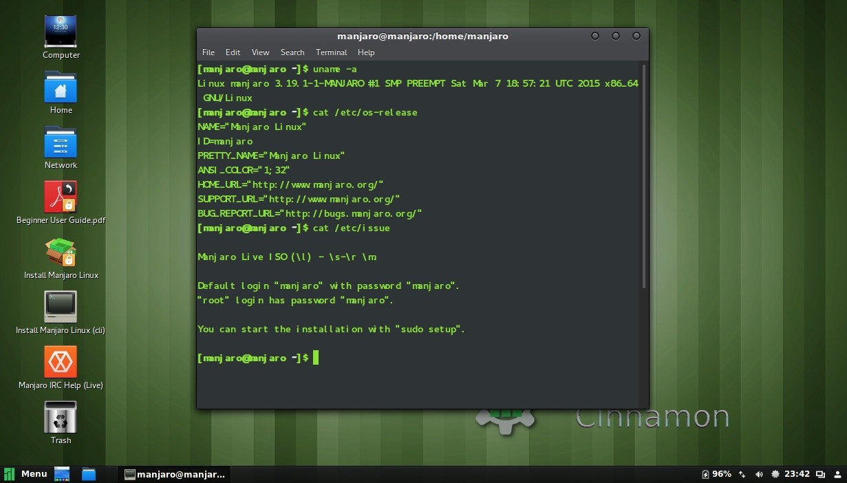 Manjaro Linux Cinnamon 0 9 0 Pre1 Has Been Beautified with