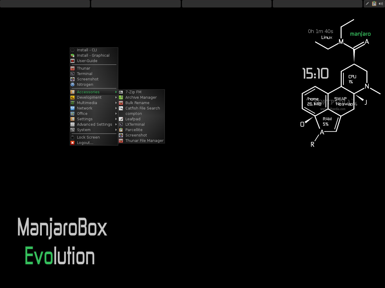 Manjaro Openbox 0 8 9 Rc3 Is A Light And Minimalistic Arch Based Linux Distro