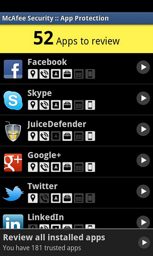 McAfee Releases Mobile Security 2 0 for Android, BlackBerry
