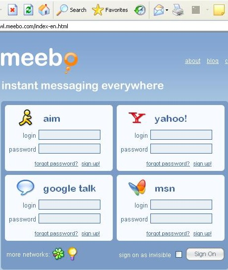 meebo messenger