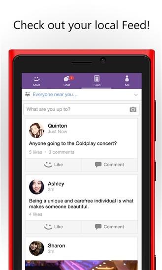 MeetMe Social Network App Arrives on Windows Phone