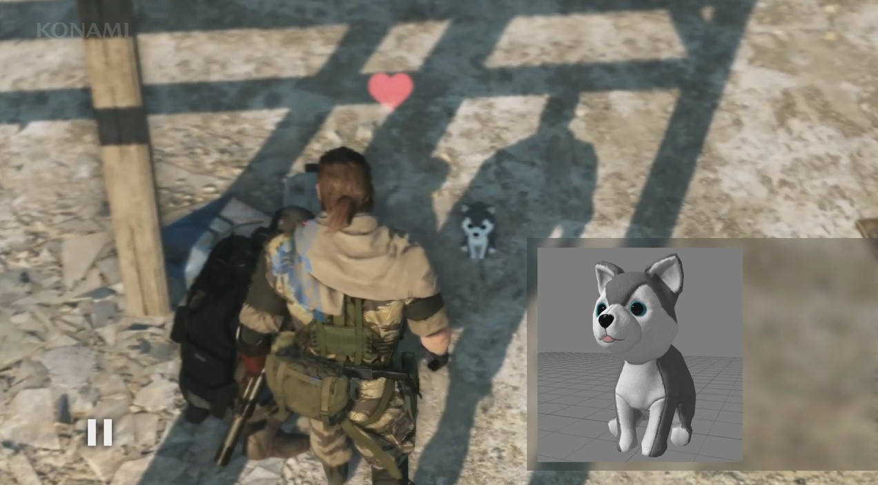 Stuffed Puppies Confirmed For Metal Gear Online