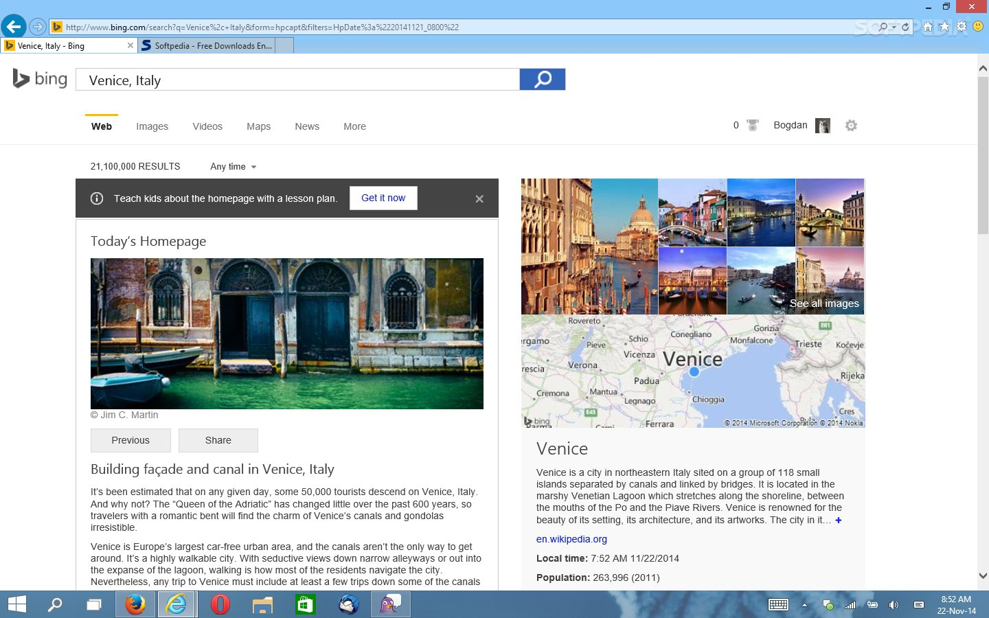 microsoft adds downloadable hd wallpapers to bing homepage
