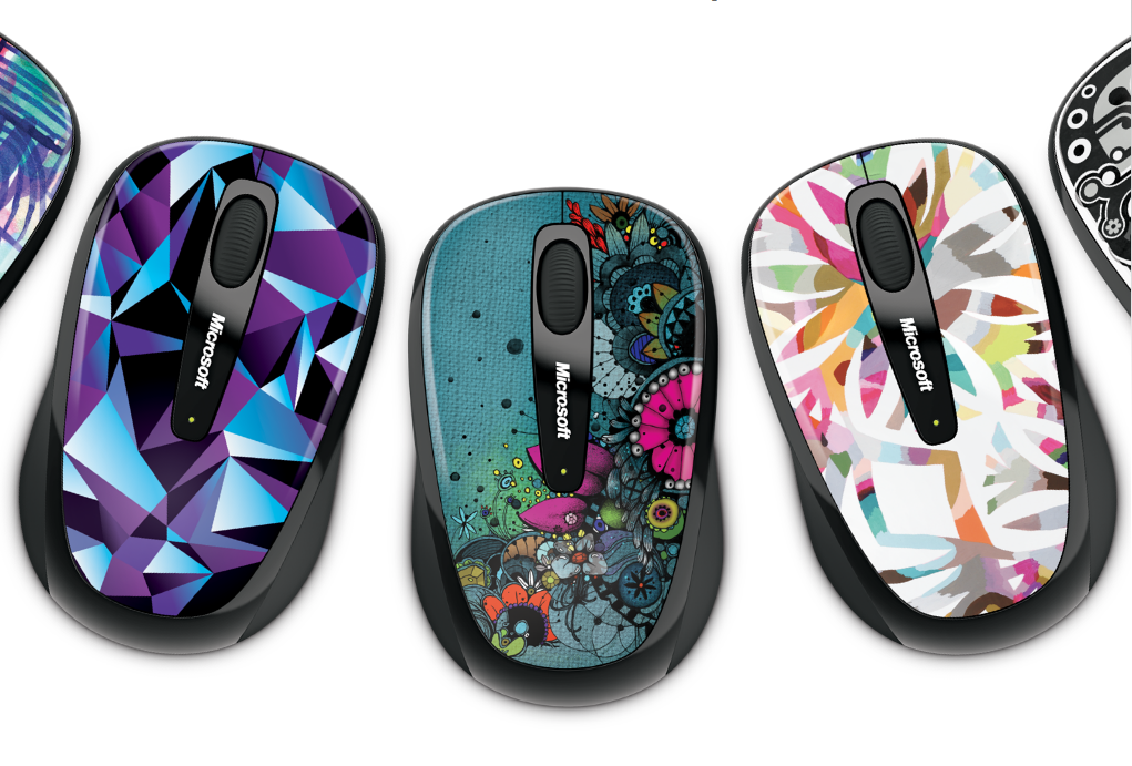 Microsoft Artist Studio Series for the Wireless Mobile Mouse 3500