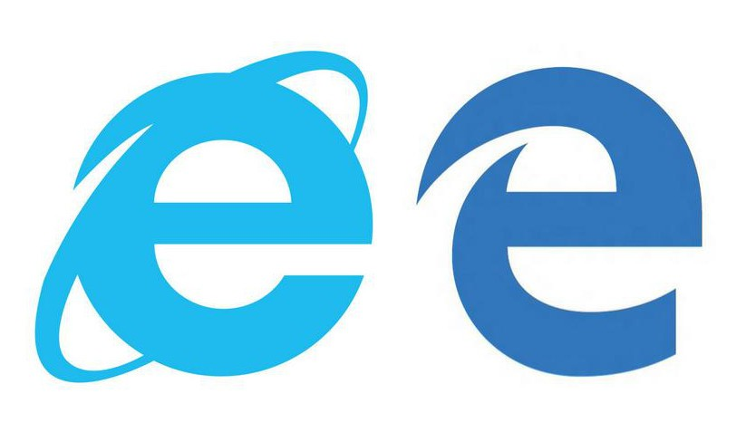 microsoft edge browser s icon looks strikingly similar to internet