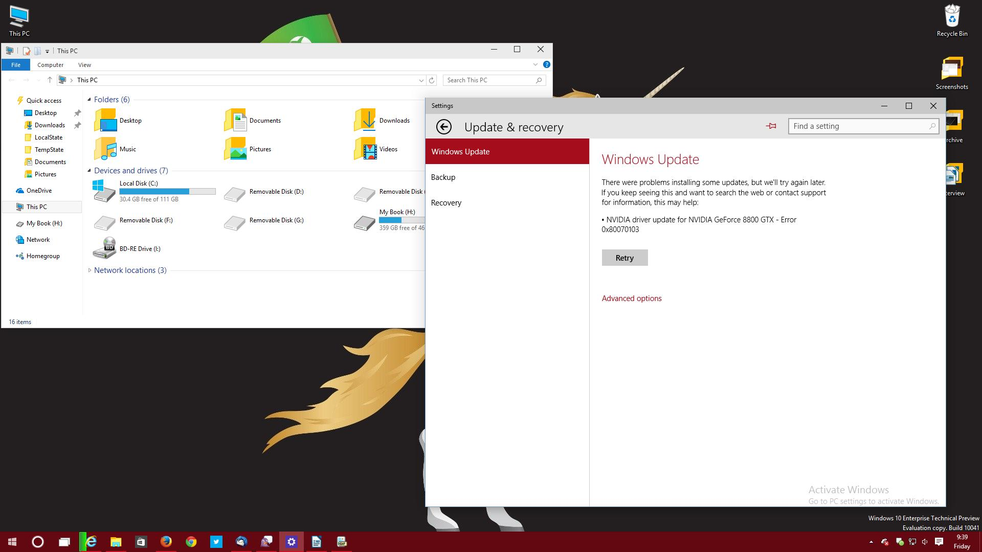 Microsoft fixes bug that keeps users locked out of windows 10 windows update in build 10041 ccuart Image collections