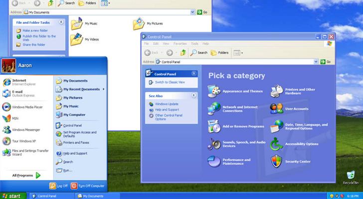 windows xp microsoft ile ilgili görsel sonucu