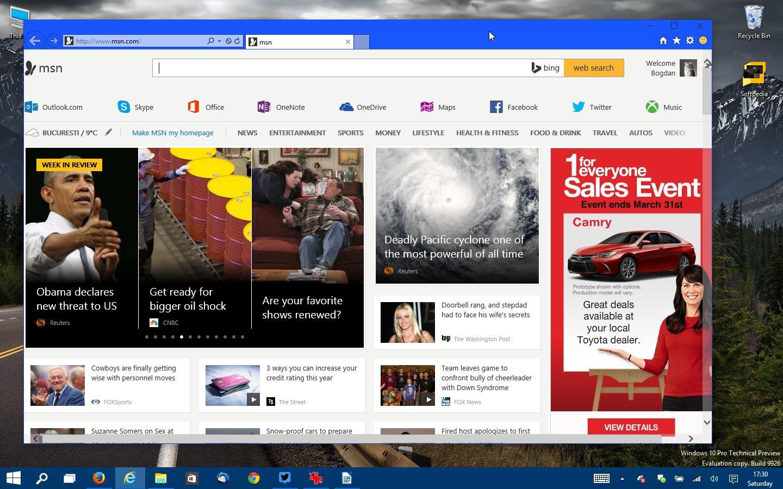 Microsoft Integrates MSN into the Windows Division