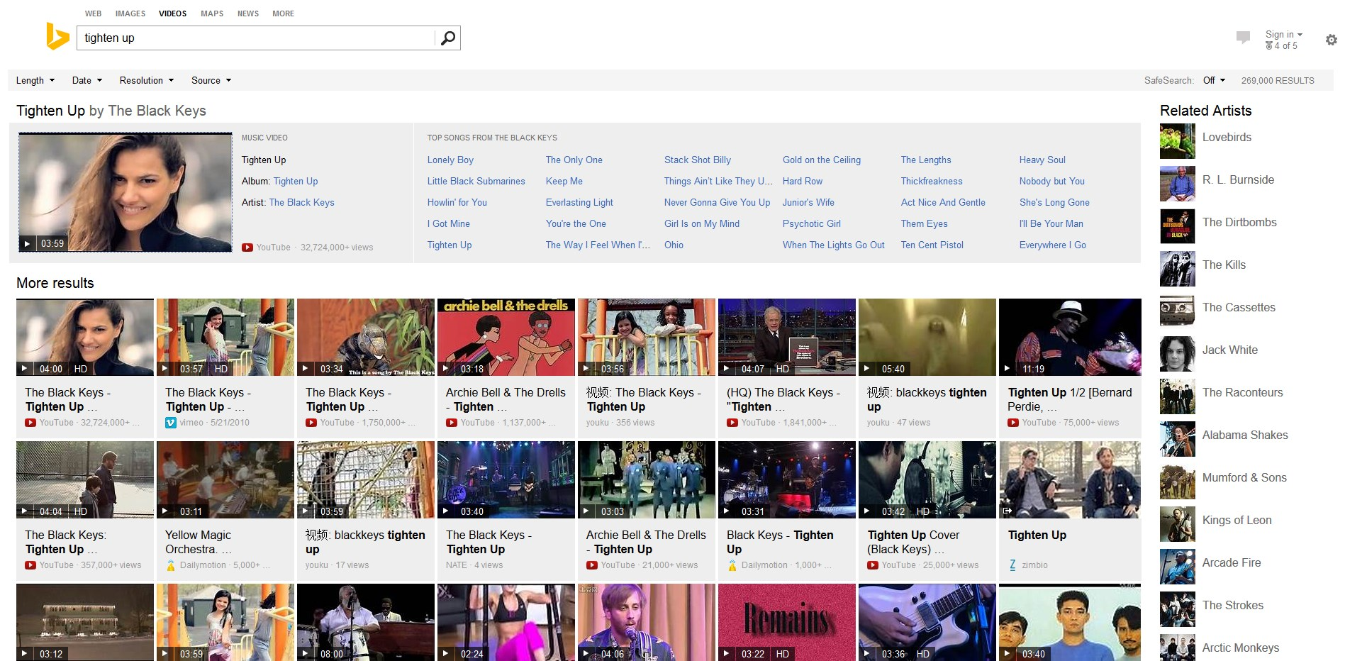 Microsoft Launches New Music Video Search