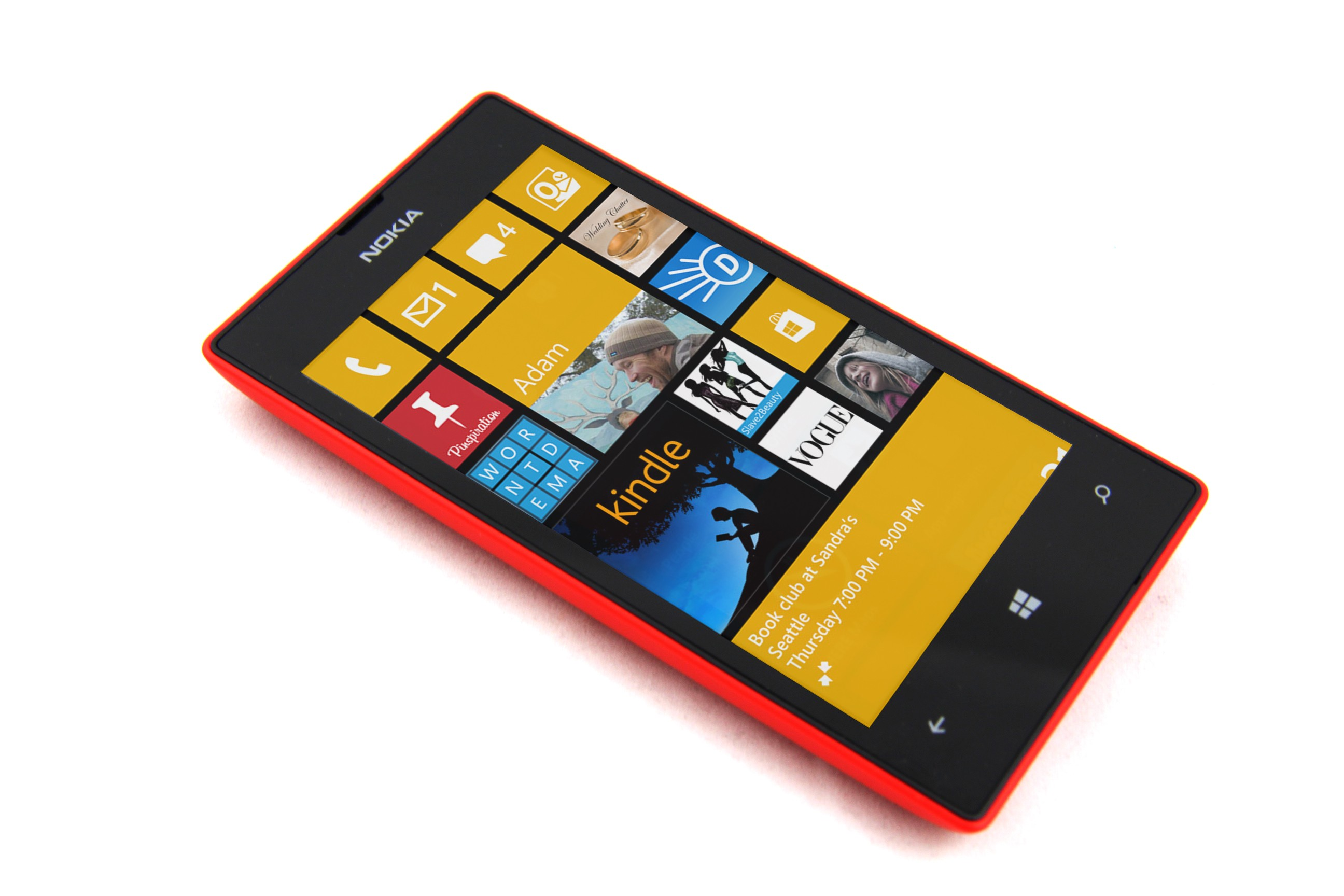 ... Lumia 520 with Windows Phone