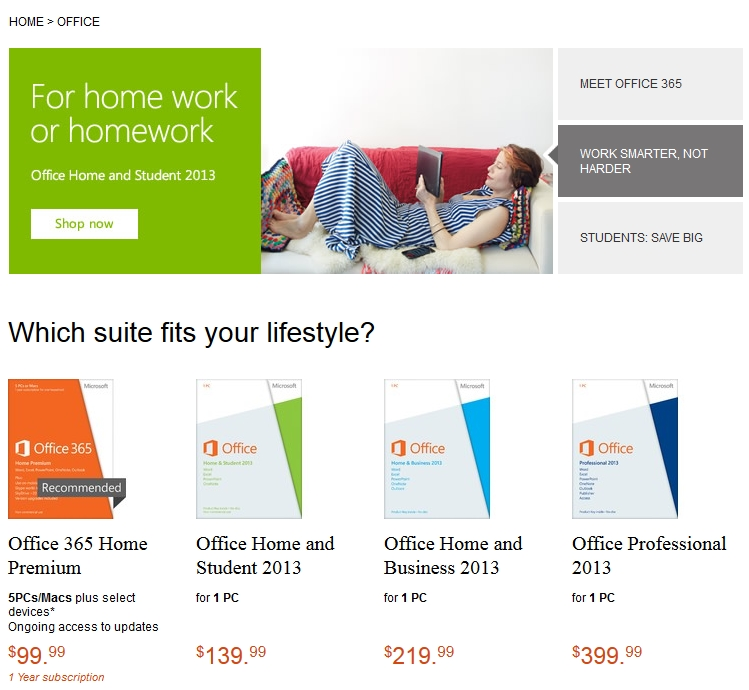 Microsoft Office 2013 Now Available For Purchase