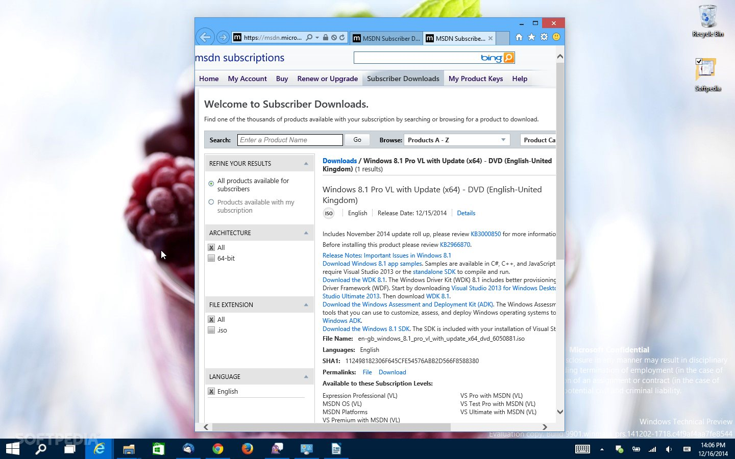 Microsoft Releases New Windows 8 1 ISO with November Updates