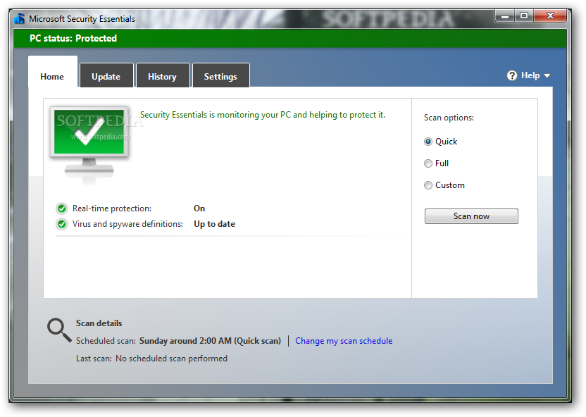 How to manually update microsoft security essentials youtube.