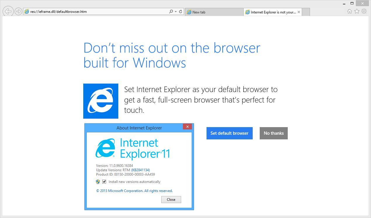 Microsoft Talks Windows 8 1 and Internet Explorer 11