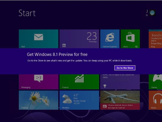 Microsoft Updates Windows 8 1 Preview Setup with SkyDrive