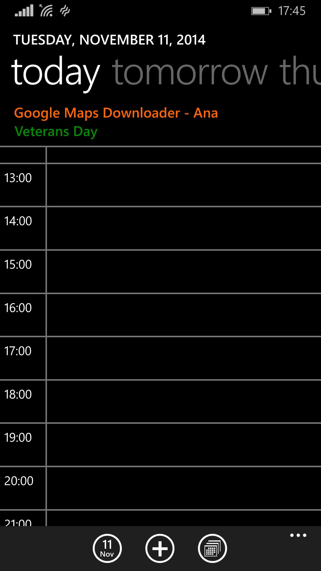 Calendar Templates in Word format