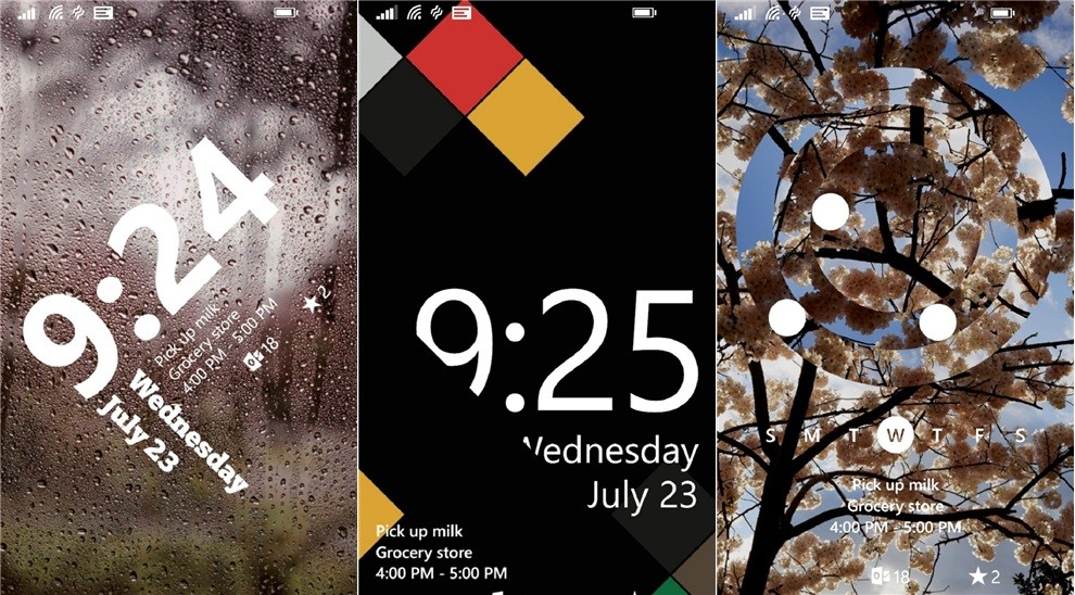 Live Lock Screen Beta for Windows Phone 8.1