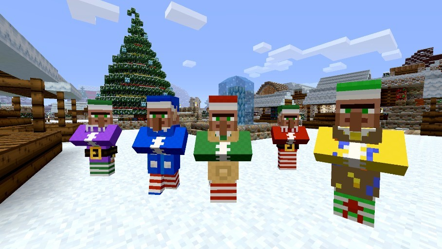 Minecraft Festive Mash-Up Pack Launches Tomorrow, Brings