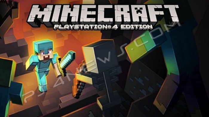 Minecraft for PS4 cover