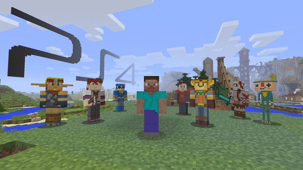 minecraft playstation 3 edition how to play 2 player