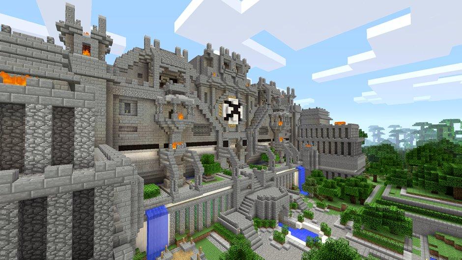 minecraft story mode castle