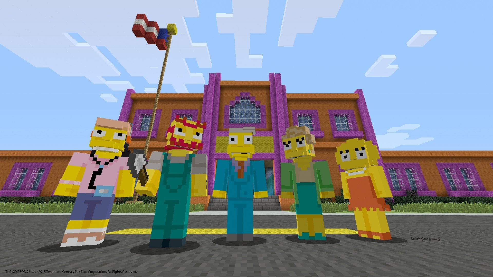 Minecraft Update and The Simpsons DLC Coming to PS4, PS3, PS Vita