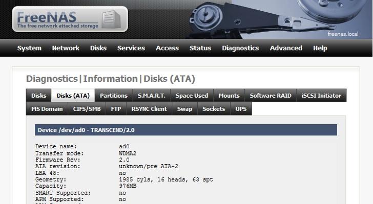 Minimal FreeBSD-Based Distribution FreeNAS 9 2 1 2 Gets New