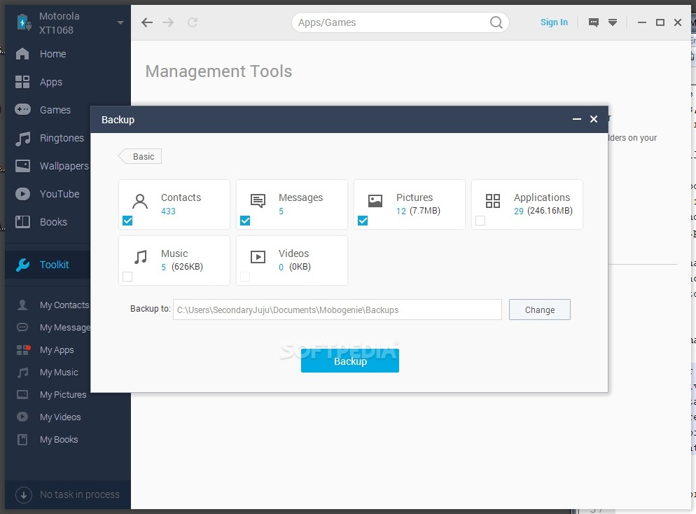 Mobogenie Review – Android Explorer with Data Backup and PC