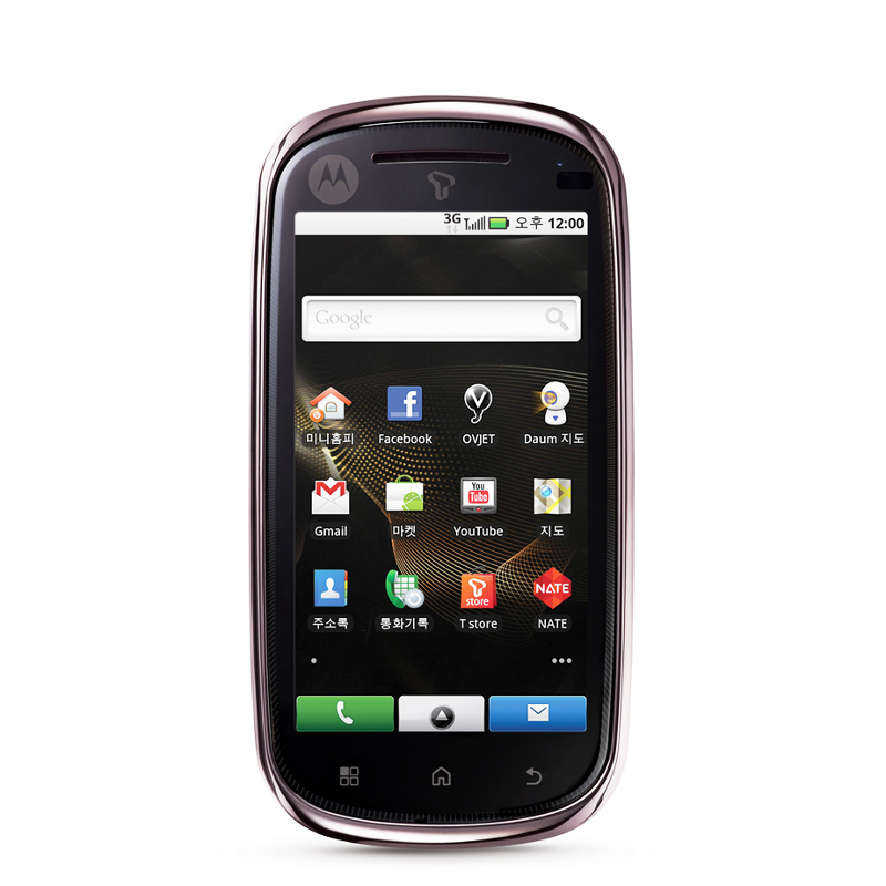 Motorola MOTO GLAM, Another Android 2.1 for Korea
