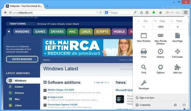 Mozilla Firefox 31 Beta 3 Released for Download