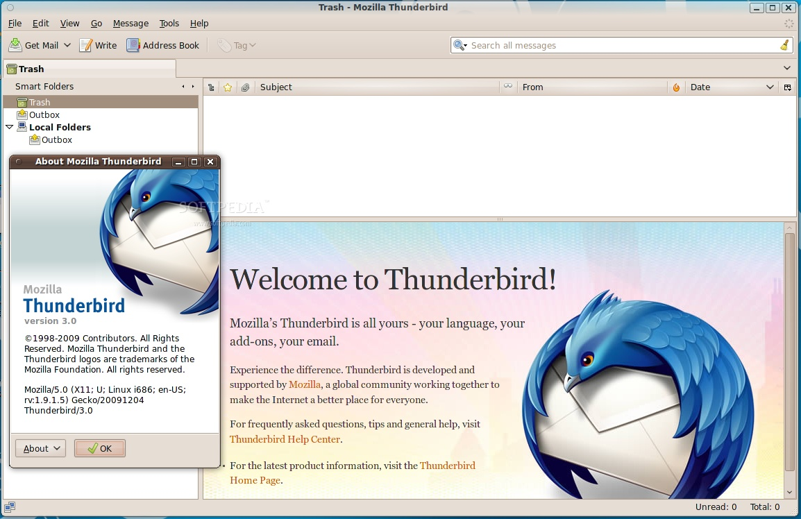 Mozilla Releases Thunderbird 3 0 for Linux