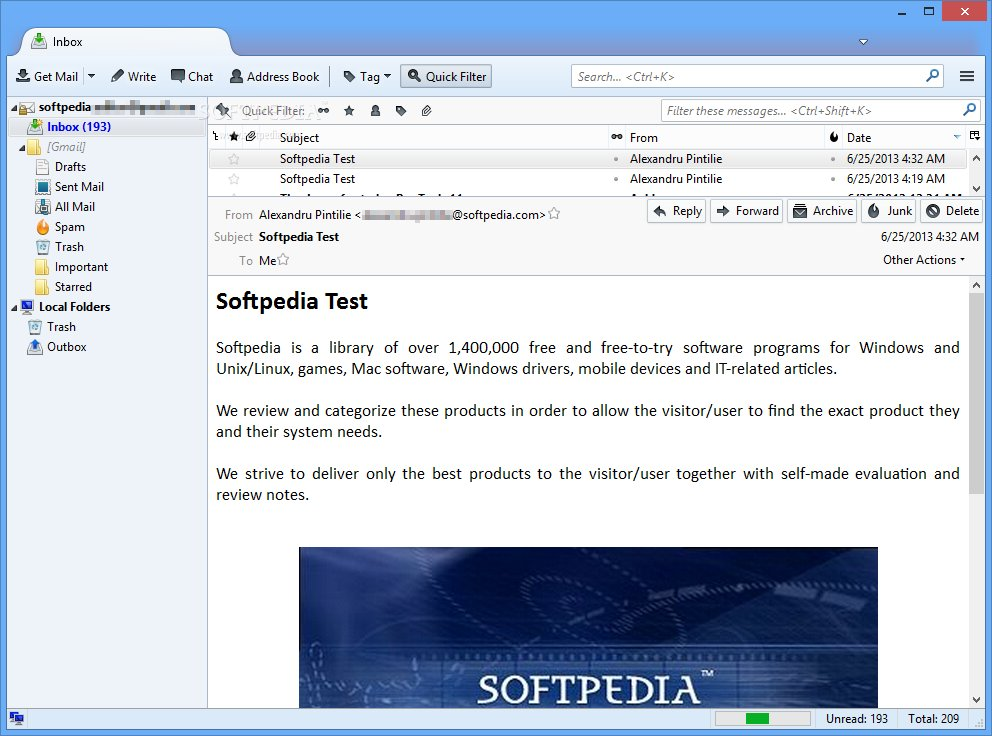 Mozilla Thunderbird 29 Beta 1 Now Available for Download