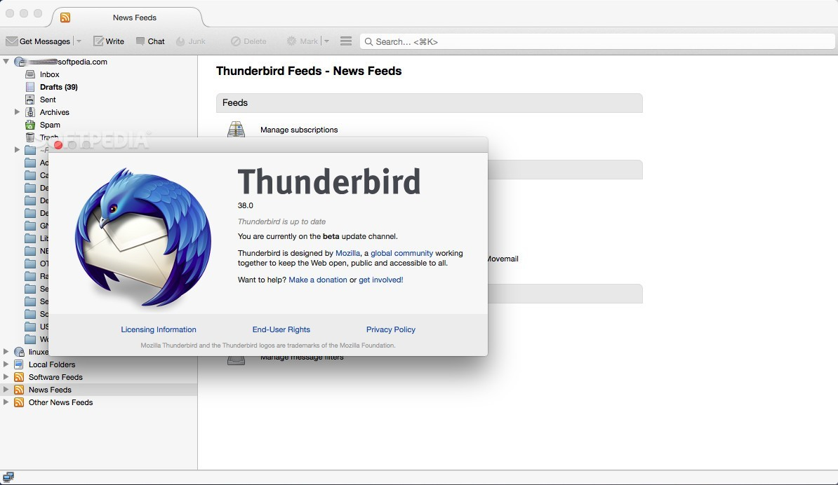 Mozilla thunderbird 380 arrives with gmail oauth2 and yahoo mozilla firefox 380 ccuart Images