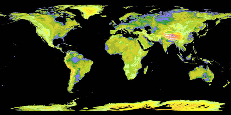 NASA Releases Most Accurate Topographical Map of Earth