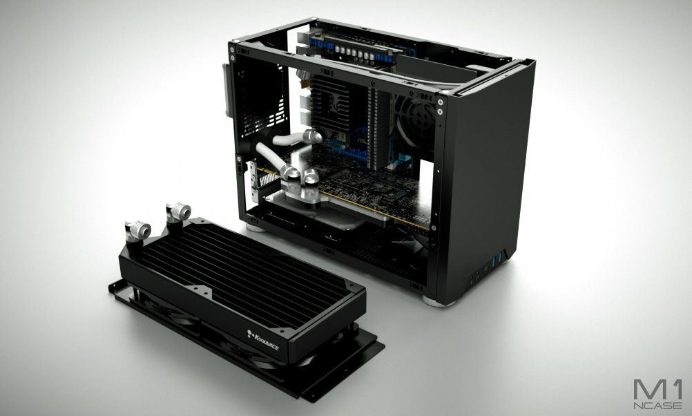 NCase, a Small PC Enclosure Made by Fans for Fans