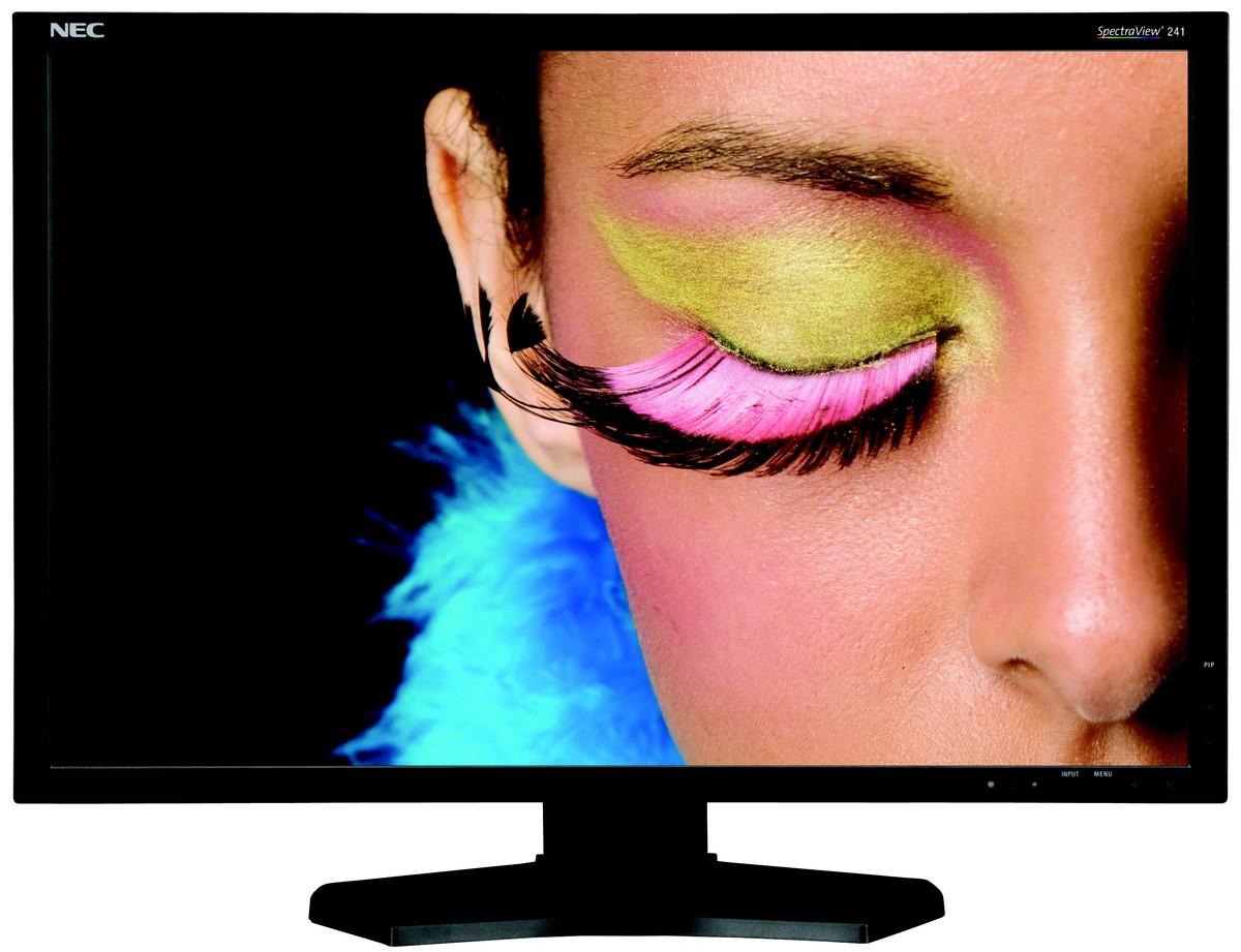 "NEC Launches 10-Bit Professional P-IPS 24"" Monitor"