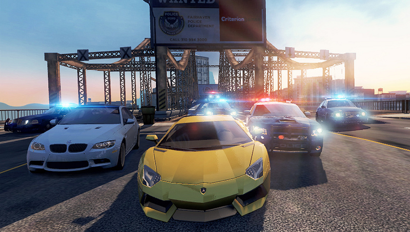 NFS: Most Wanted for PS Vita Is the Same Game as the PS3 One