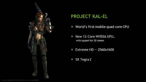 NVIDIA Wants to Port PC Games to Tegra Android Tablets