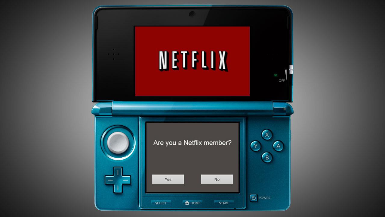 Netflix Arrives Today in Nintendo 3DS Online eShop