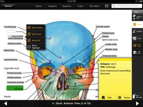 Netters Anatomy Atlas Now Available As Ipad App