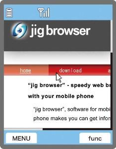 New Java Browser for Mobile Phones