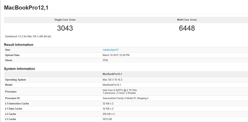 New MacBook Pro and Air Performance on Par with Mid-2014 Models, See