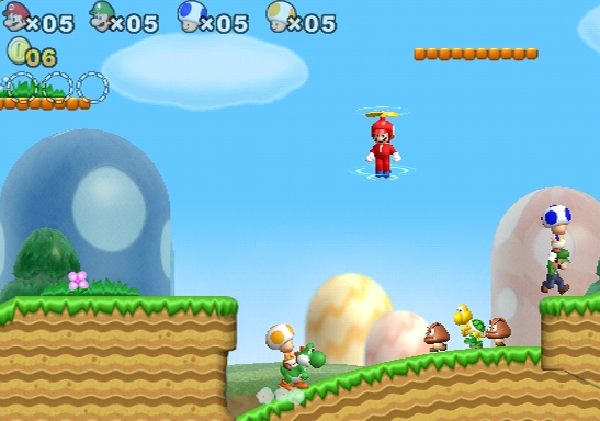 New Super Mario Bros  Wii Could Have Had an Online Multiplayer