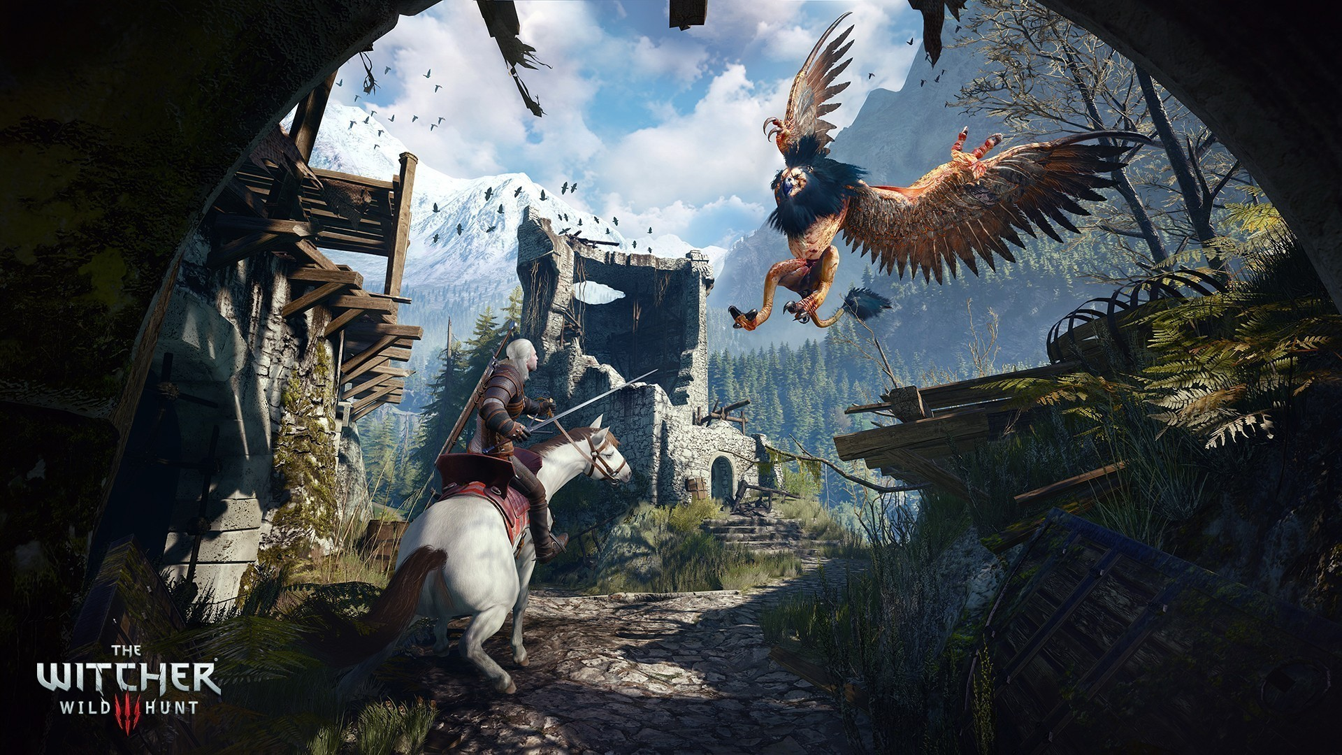 Fight Monsters In The Witcher 3