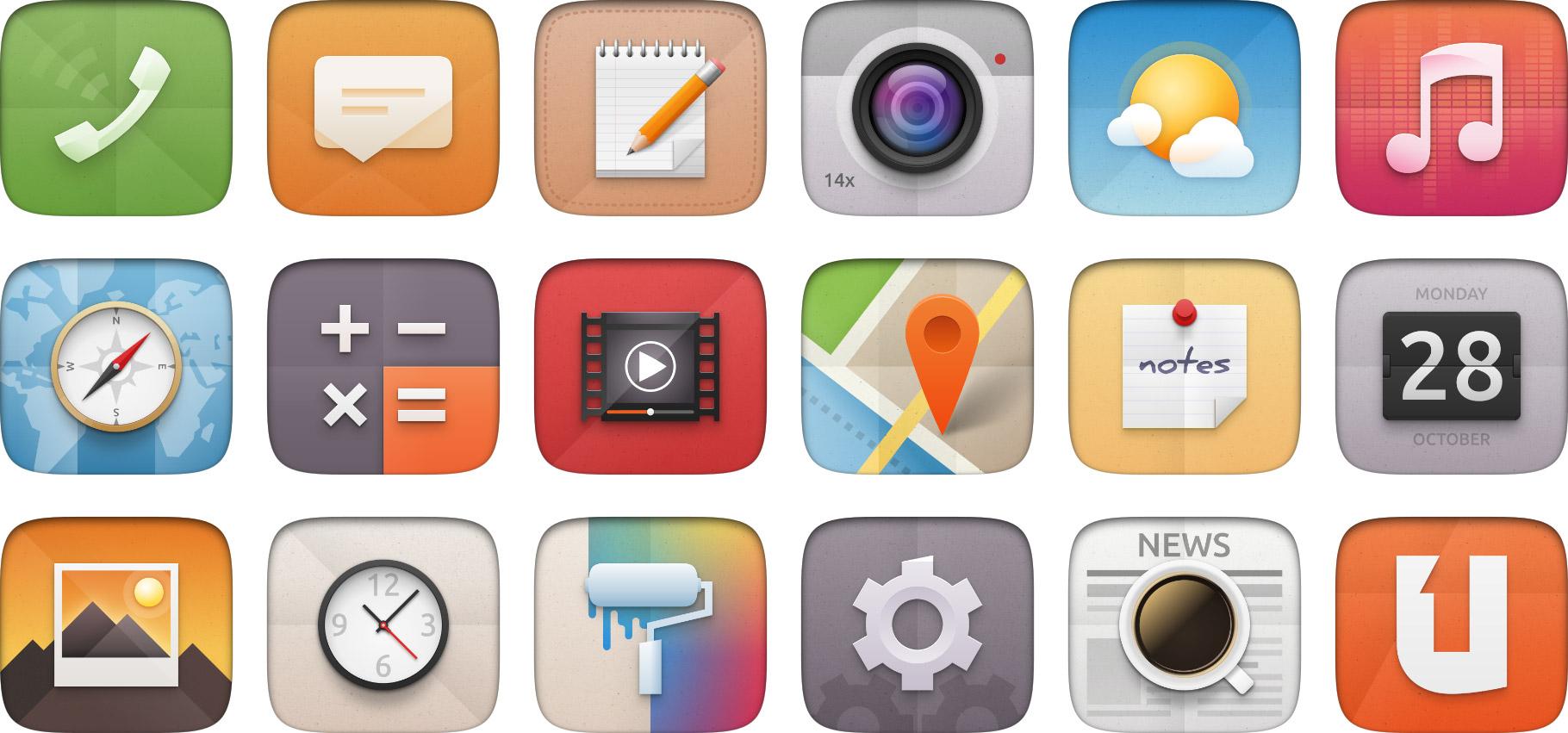 Ubuntu 14 04 Icons