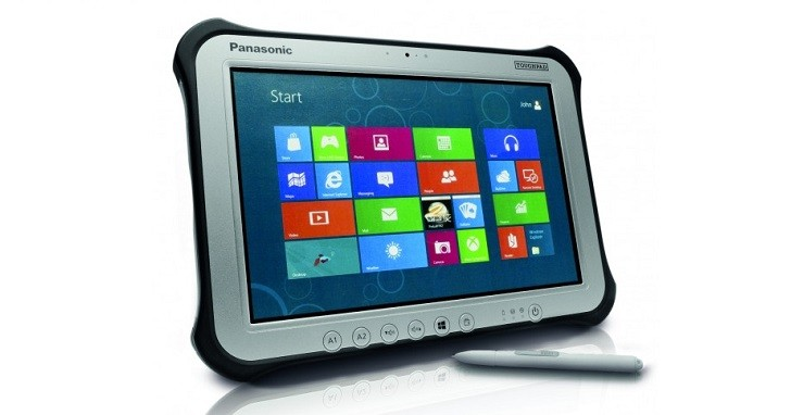 New Version Of Panasonic Toughpad Fz G1 Rugged Tablet With