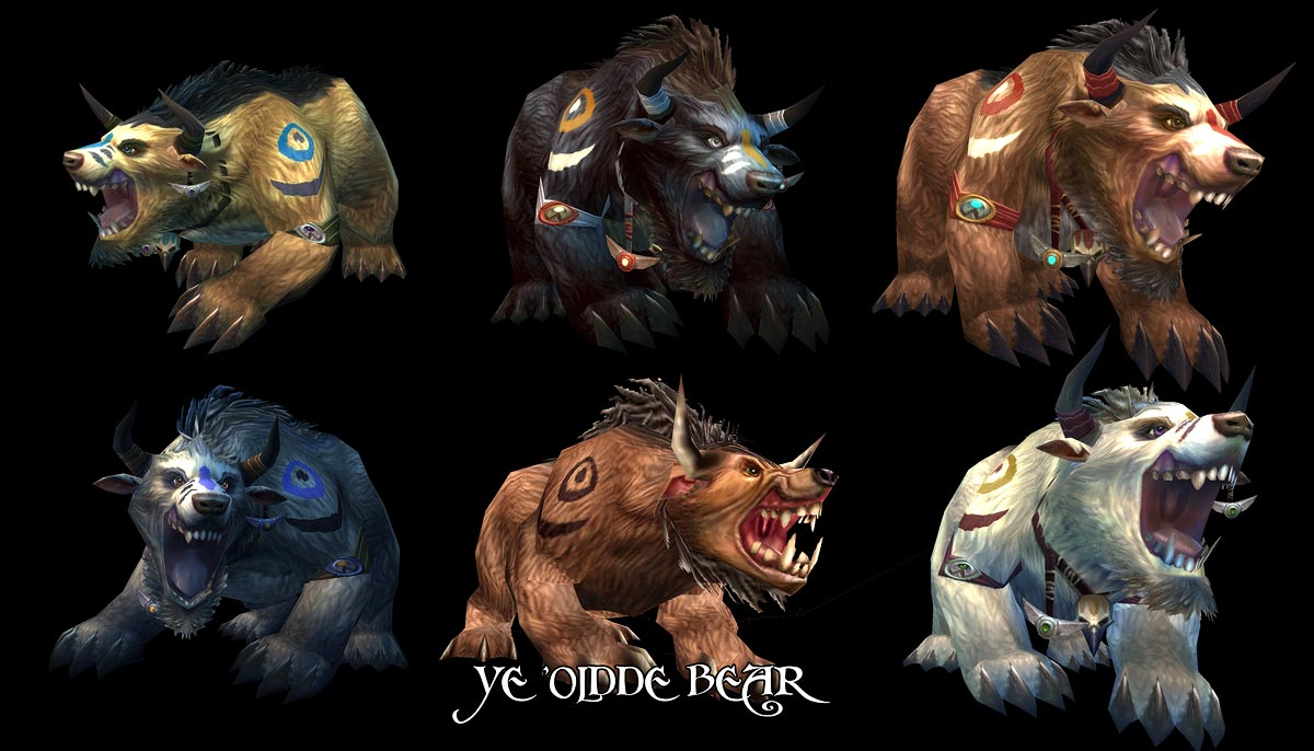 Bear Osos Videos Porno new wow druid forms confirmed - june mac release imminent