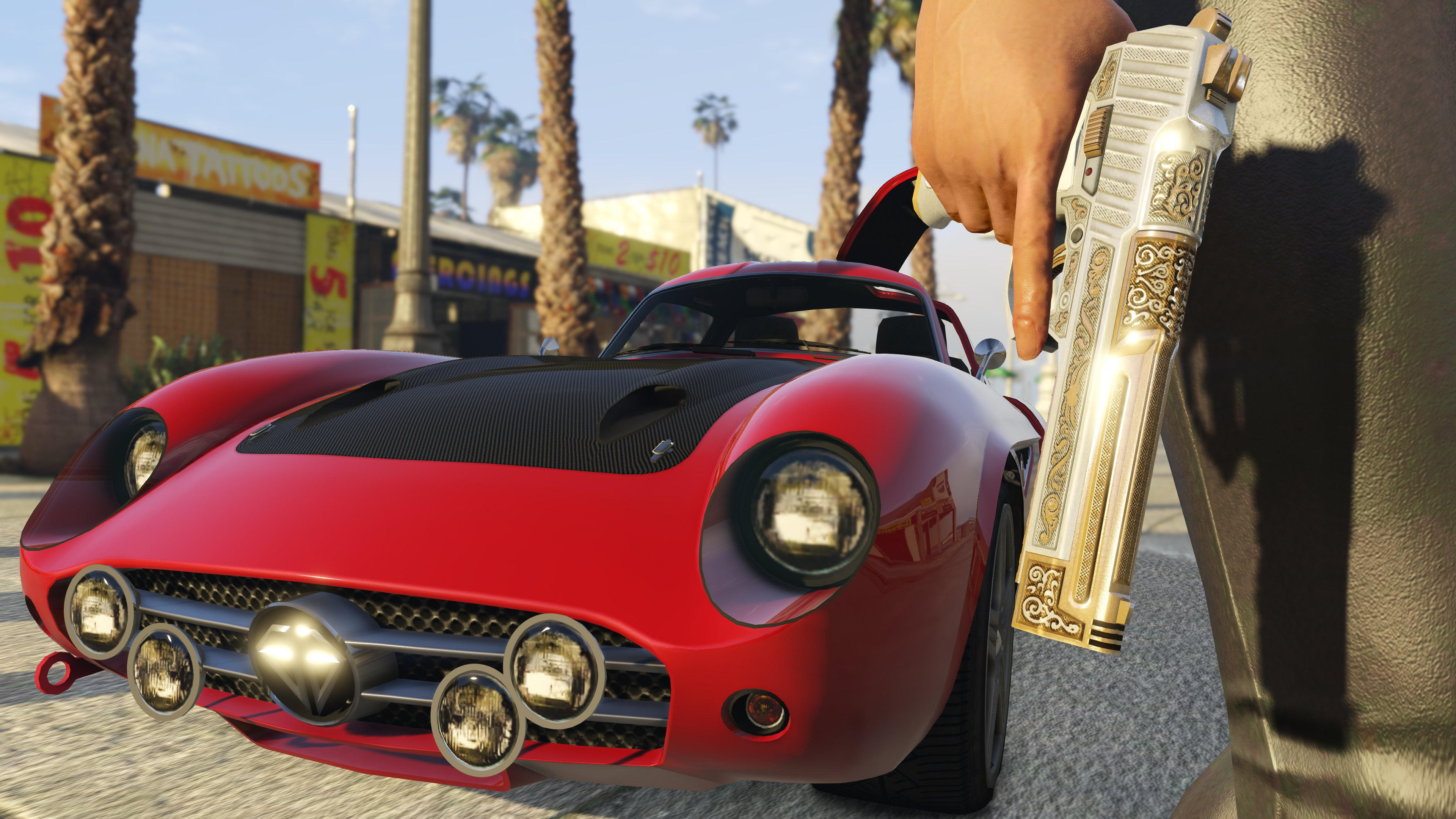 gta online how to open gun showcase
