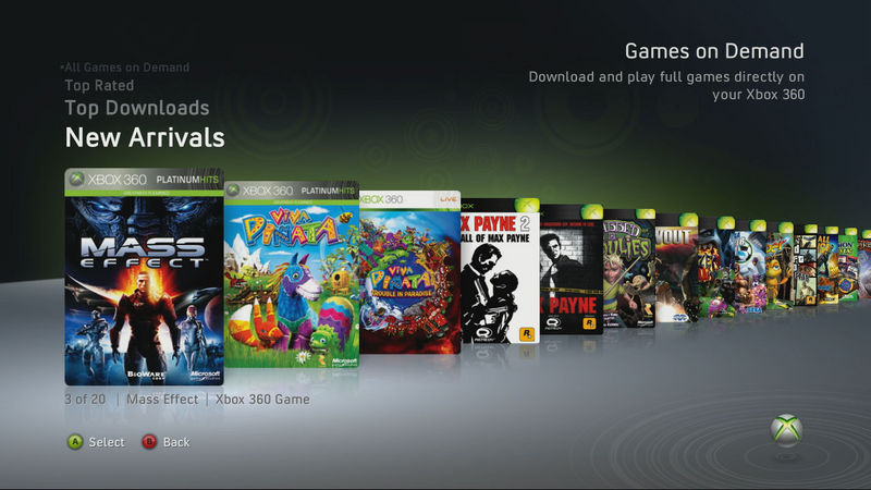 Updating xbox 360 games